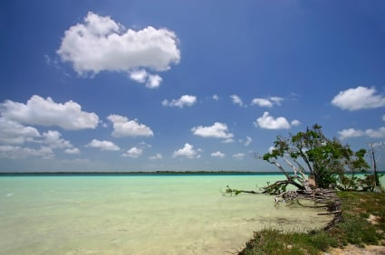 At Lake Bacalar, Mexico, One Woman Seeks Sun and Finds a Calling