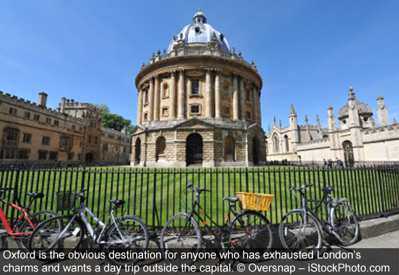 When You've Exhausted London's Charms, Day Trip to Oxford