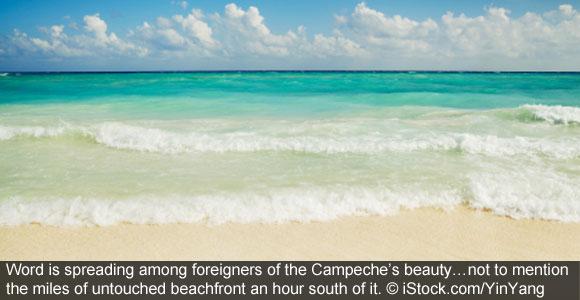 Snowbird? Try Seaside Campeche