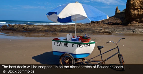 Buy On Ecuador's Best Stretch Of Coast From Only $115,000