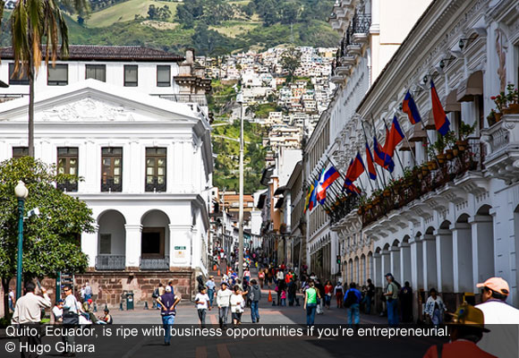 Tapping into Ecuador's Rising Middle Class