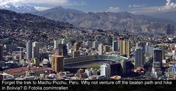 Trek Bolivia A Machu Picchu Alternative