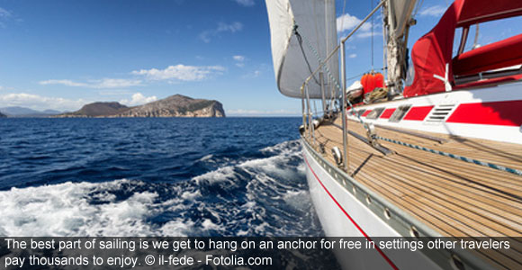 Take A Yacht And Sail Into Retirement On The Mediterranean