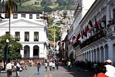 """Quito: The """"Most Beautiful Big City in South America"""""""