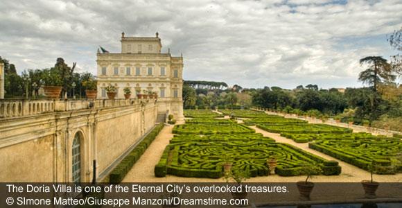 Three Secret Grand Galleries of Rome