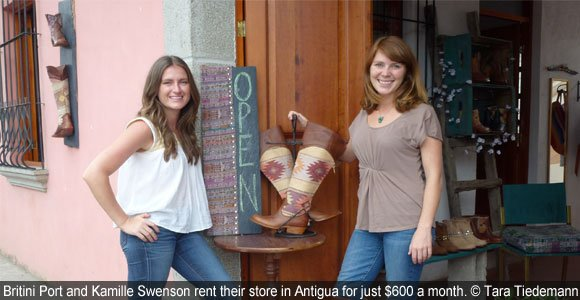 An Artisan Boutique In Colonial Guatemala