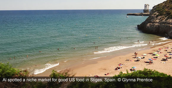 Profit from American Burgers in this Catalan Beach Town
