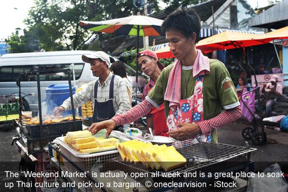 Explore Bangkok's Vast Weekend Market