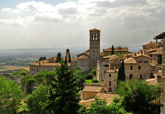 Crazy About Food in the Green Hills of Umbria