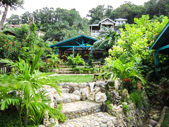 Garden Design on an Island Paradise