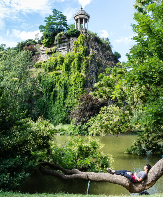 The Hidden Waterfalls, Grottoes, and Roman Temples of Paris