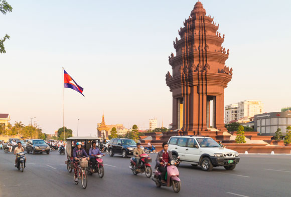 Bankrolling Five-Star Travel From Cambodia