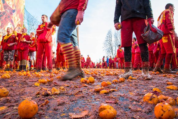 Sacred Sticks and a Battle of the Oranges