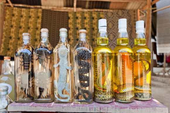 Laos Moonshine, Italian Wine, and More