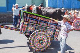 Costa Rican Ox Cart