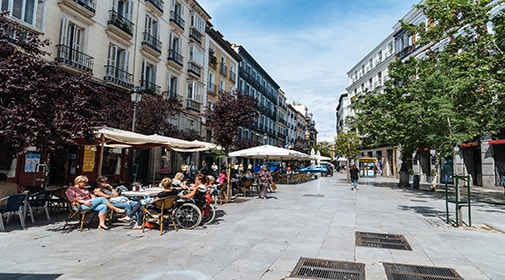 All Singing, All Dancing: A Day and Night in Madrid