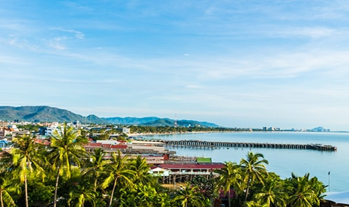 An Early Retirement in Thailand's Royal Beach Resort