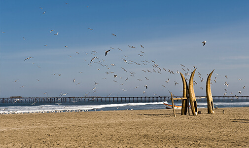Escaping the Snow in Beach-Town Huanchaco
