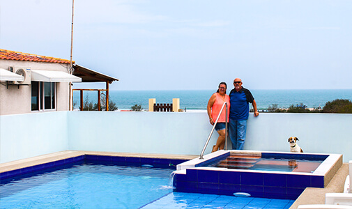 Finding Old-Fashioned, Small-Town Beach Living in Ecuador
