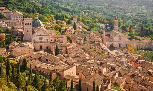 Finding Connection and Community in Assisi