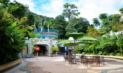 A Hill Station Hideaway on Penang Island