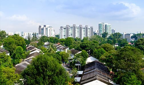 New-Urban Living in Small-but-Perfect Singapore