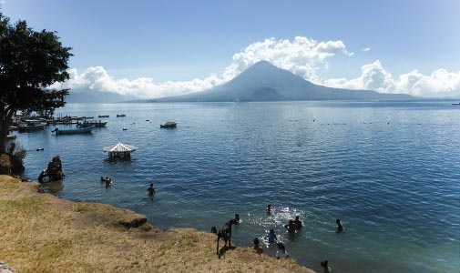 In Search of Better Beaches on Guatemala's Trio of Lakes