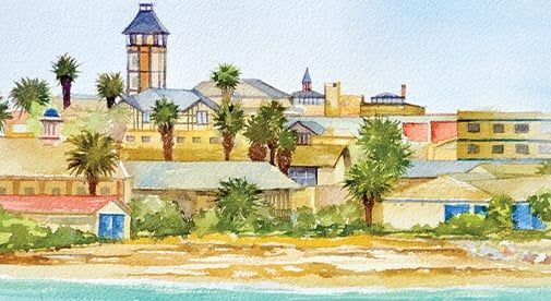 Swakopmund—The German Outpost in the African Sands