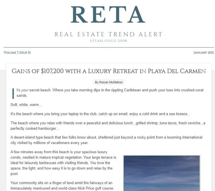 February 2021 – 18 Villas with Pools—RETA Only