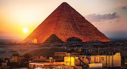 Living in the Shadow of the Pyramids