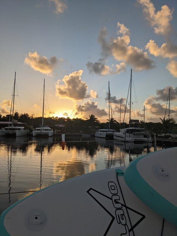 Living Aboard a Sailboat in Caribbean Belize