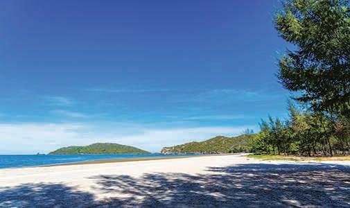 "Kiteboarding in ""the Venice Beach of Thailand"""