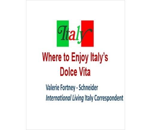 Where to Enjoy Italy's Dolce Vita