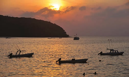 Into the Zihuatanejo Sunset With a Charter Boat Business