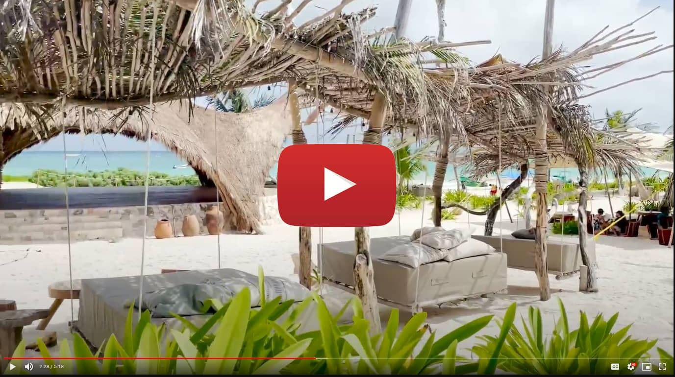 Tulum: Video from Our Beach Club